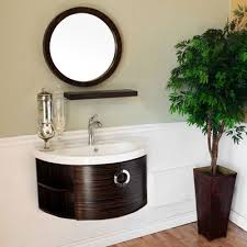 34 Inch Vanity Islander Single 34 Inch Contemporary Bath Vanity With Mirror Option