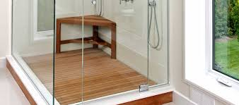 Teak Benches For Showers Custom Made Teak Shower Benches Bathroom Stools Luxury Teak