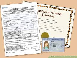 how to get a canadian passport 12 steps with pictures wikihow