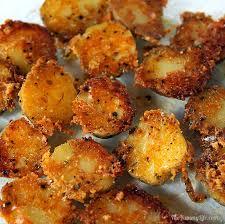 Fried Parmesan Easy Crispy Parmesan Garlic Roasted Baby Potatoes
