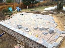 Thin Patio Pavers Thin Patio Pavers Thin Concrete Patio Pavers Kuki Me