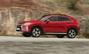 mitsubishi guagua 2018 mitsubishi eclipse cross first drive review car and driver