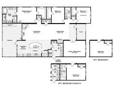 Floor Plan Homes by Clayton Homes Home Floor Plan Manufactured Homes Modular