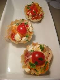 food canapes roasted cherry tomatoes and goats cheese canapes recipe all