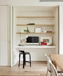 bureau dans un placard conseil déco aménager un coin bureau à la maison architecte d
