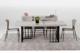 Gloss Dining Tables Modern Grey Gloss Dining Table