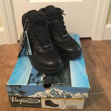 s vasque boots 73 shoes black leather vasque tex boots from
