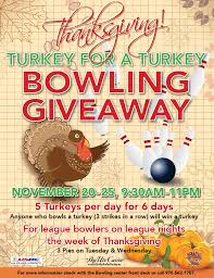 sky ute casino resort thanksgiving turkey for a turkey bowling
