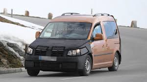 volkswagen caddy 2015 facelifted volkswagen caddy spied once more interior shots included
