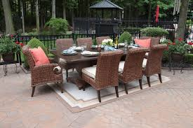 All Weather Patio Furniture Aerin Collection All Weather Wicker Luxury Patio Furniture 8