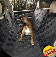 amazon com yermo pet hammock dog car seat cover protector