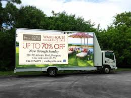 Carls Patio Furniture South Florida Retail Marketing Out Of Home Carls Patio Mobile Billboard