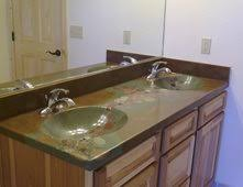 Cement Bathroom Vanity Top Concrete Sinks Pictures Gallery The Concrete Network