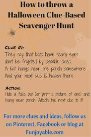 best 25 halloween scavenger hunt ideas on pinterest scavenger
