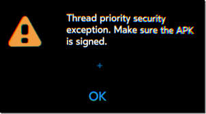 samsung gear manager apk solved thread priority security exception on gear vr headjack