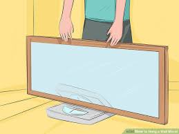 How To Hang A Picture 3 Ways To Hang A Wall Mirror Wikihow