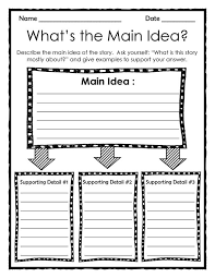 64 best main idea images on pinterest teaching ideas reading