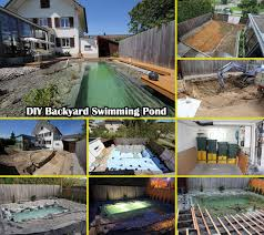 genius diy backyard swimming pond decor advisor
