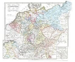 Plano Map Historische Karte Deutschland Von 1792 1854 Plano Verlag
