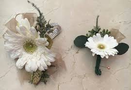 White Corsages For Prom Prom Formal Elegant Flowers Fresno Florists Flowers In Fresno