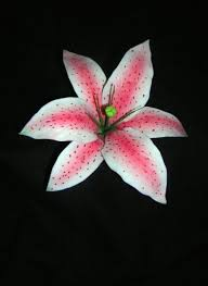 asian lilies how to make a gumpaste stargazer asian cakecentral