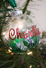 diy keepsake christmas ornament for baby project nursery
