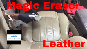 Used Cars With Leather Interior How And When To Safely Clean Your Leather Seats With The Magic