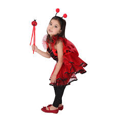 Fairy Costumes Aliexpress Com Buy Retail Cute Red Yellow Ladybug Fairy Costumes