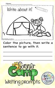 Thanksgiving Writing Prompts First Grade Summer Camp Writing Prompts Writing Ideas Writing Prompts And