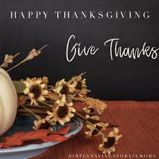 giving thanks happy thanksgiving