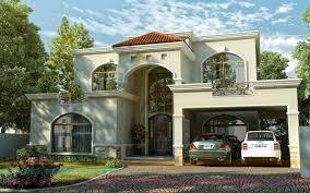 modern elegant design of the european contemporary home design