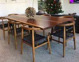 live edge table with turquoise inlay dining table with turquoise inlay