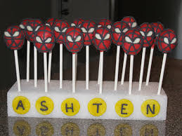 cake pop and cake ball ideas spiderman cake pops