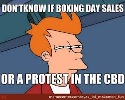 Boxing Day Meme - don t know if boxing day sales or by eyas lol makamon fun