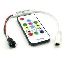 mini rf controller 14key for dc5v ws2812 dc12v ws2811 dream color