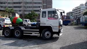 mitsubishi trucks 1990 三菱10輪拖頭 used fuso tractor head lac 113 1990 youtube