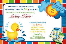 duck baby shower invitations baby shower invitations duck baby shower invitations