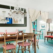 Beachy Dining Room by Bohemian Cottage In Venice Beach Coastal Living