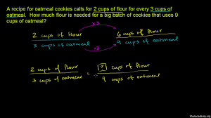 writing proportions example video khan academy
