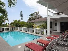 lovely spacious ocean view home with pool close to beach keauhou