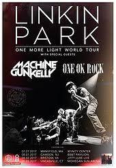 one light linkin park one more light world tour wikipedia