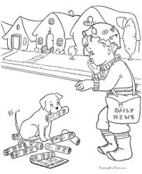 dog coloring pictures