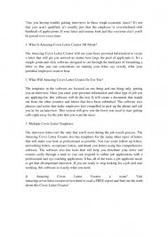 Resume Cover Letter Maker Resume Cover Letter Creator