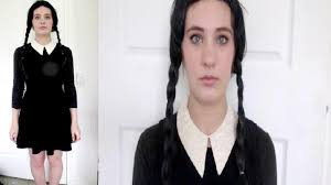 Adam Family Halloween Costumes by Halloween Tutorial Wednesday Adams Hair Makeup Costume