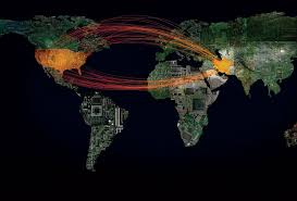 Ddos Map The Changing And Terrifying Nature Of The New Cyber Warfare