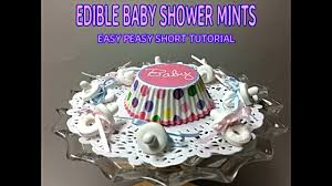 baby shower pacifiers lifesaver mint tic tac u0026 jelly bean youtube