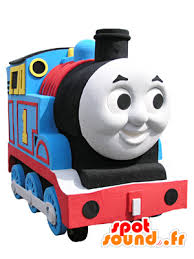 thomas mascot famous toy train cartoon spotsound