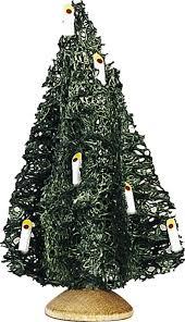 little christmas tree set of five 10 cm 3 9in by günter reichel