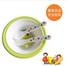 baby children s melamine plate set plates and bowls tableware
