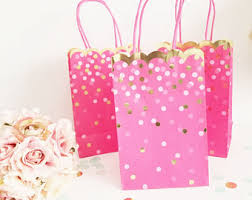 pink favor bags pink favor bags etsy